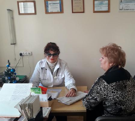 Врач эндокринолог Мариуполь Алейникова А.И.
