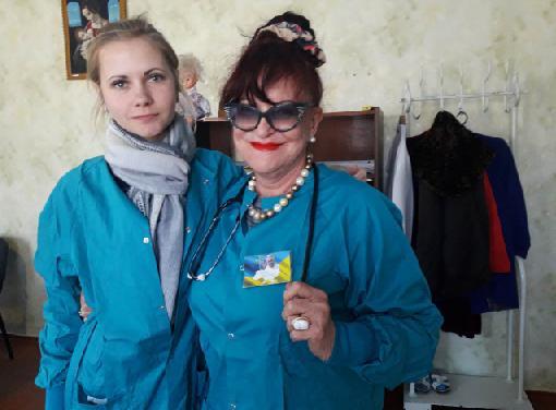 Алла Алейникова помощь больным восток Украины