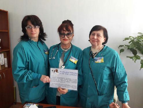 врачи волонтеры восточная Украина