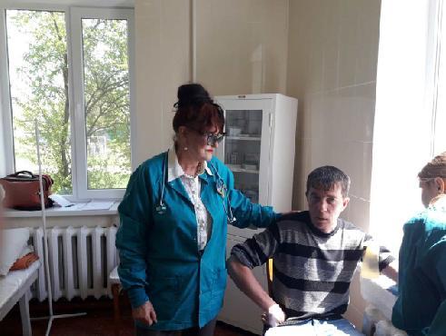медицинская помощь акция Староигнатьевка