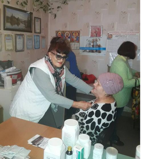 медицинская помощь жителям отдалённых сёл