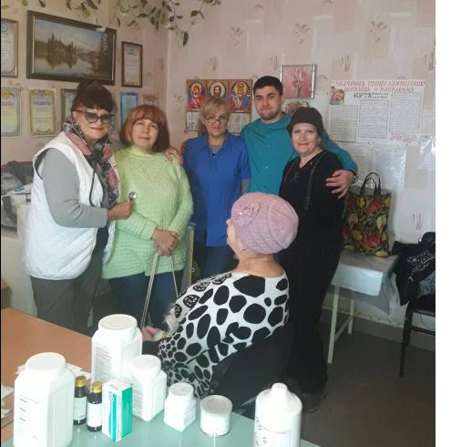село Мирное медицинский рейд