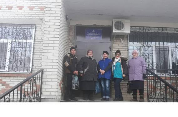 село Калинине Папа для Украины